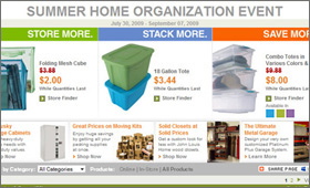 Home Depot: Savings Events