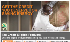 Home Depot: Tax Credit