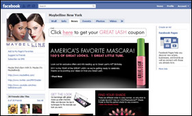 Maybelline: Facebook Great Lash