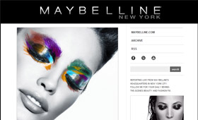Maybelline: Tumblr Blog